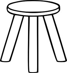 Functional three-legged stool